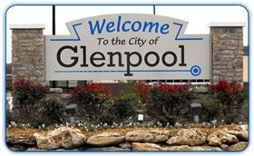 Welcome to the City of Glenpool sign